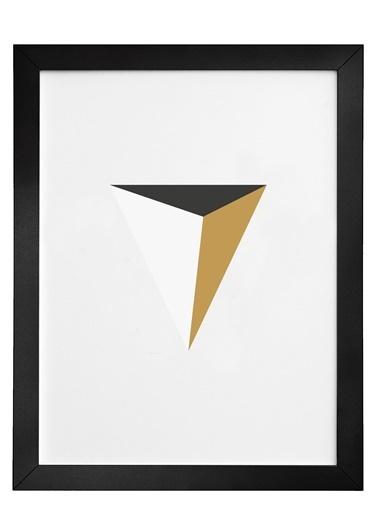 Nordbagen Pyramid Poster Siyah